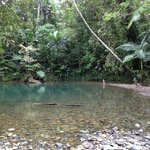 """The Blue Hole"" - freshwater swimming hole 5 mins from Prema Shanti"