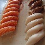 Salmon Sushi, Butter fish Sushi, Inari Sushi