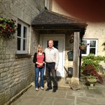 Helen and Paul owners of  Upper Hill Farm
