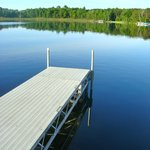 A view of Bay Lake from the dock at Battle Point Condos