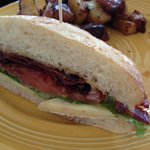 BLT with brie