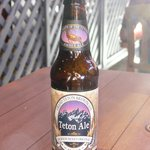 I'd recommend the local brew, Teton Ale!