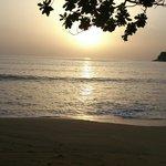 Nipah Bay at sunset