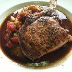 Herb Grilled Pork Chop