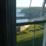 beautiful view from only one of our windows of the sea
