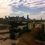 View of Downtown Dallas from Sheraton Suites Market Place on East Side