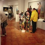 """The gallery, open until midnight, for the event """"NottiLucente"""" in San Gimignano!"""