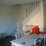 escalier acces chambres