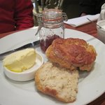 Fantastic scones & clotted cream