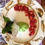 chocolat fraise et crème de menthe