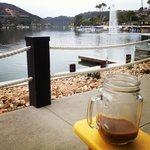 Morning cup of joe lakeside!