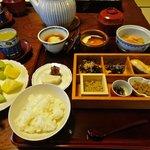 Petit-déjeuner japonais !