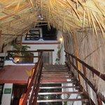 Treppen, die zu Zimmern führen