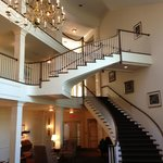 The main staircase in our building