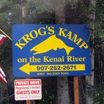 Krog's Kamp entrance sign