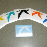 Take a free pteranodon decal home with you to remember us by!