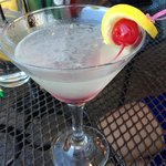 Leelanau Cherry Lemonade Martini!