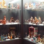 Cabinets with figurines