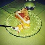 Delicious peach cake!