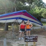 dunes hang gliding