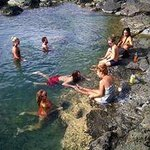 Trip to natural pools