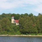 Eagle Bluff Lighthouse as seen from Green Bay