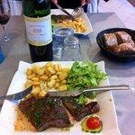 enjoyed my steak