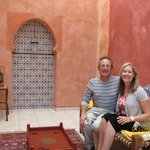 Your reviewers in Mme Assad's beautiful Turkish room