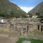 Vista de Ollantaytambo.