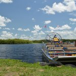 airboat view