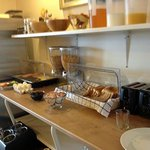 Breakfast buffet was the smallest we have ever had in Iceland hotels. No restaraunt for dinner h