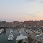 View at twilight from Ploce #1apartment
