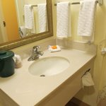 Sink area- Room 523