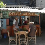 Coco Loco bar next to the hotel - great for fresh coconuts.