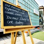 Daily Message Chalk Board