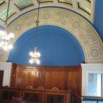 Restored former courtroom.