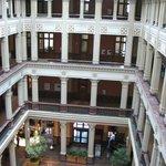 The Atrium seen from an upper floor.