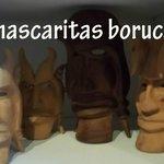 Máscaras de la comunidad indígena Boruca