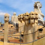 Rooftop of Casa Mila