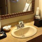 Nice fixtures; new sink.