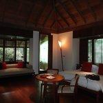 rainforest villa bedroom