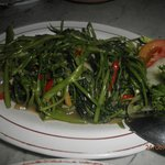 fried 'kangkong'