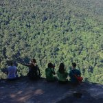 Khao Yai viewpoint with our guide, Ben!