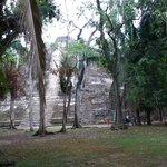 Lamanai Ceremonial Pyramid