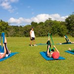 Enjoy morning stretch classes