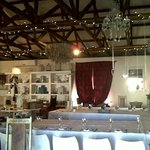 The separate room at the back with stunning decor, ideal for a function