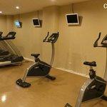 健身房沒什麼人使用