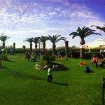 Panorama of the playground
