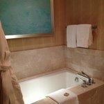 Nice tub with TV