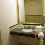 Area INSIDE bathroom